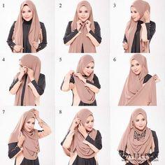 Tutoriels-Hijab-Modernes6.jpg (564×564)
