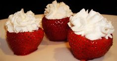 Strawberry Jello Shots Like You Won't Believe! - MyThirtySpot