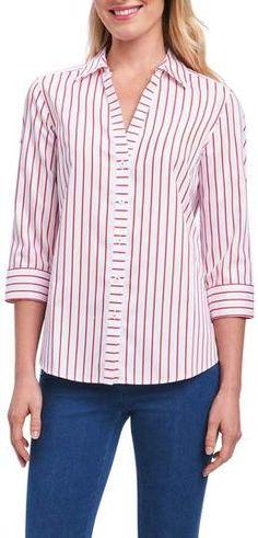 085f914c00b Foxcroft Clio Sateen Stripe Shirt  affiliate link