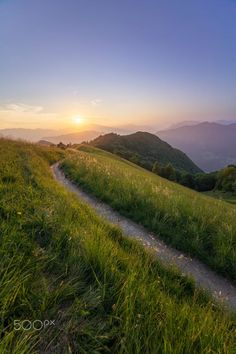 Footpath in the Bergamo Mountains (Italy) by Matteo Milesi on 500px