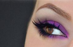 Purple!!!! So pretty w/my brown eyes!!!