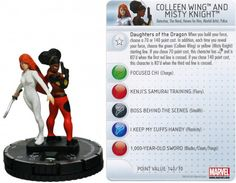Colleen Wing and Misty Knight #044 Amazing Spider-Man Marvel Heroclix - Marvel: Amazing Spider-Man - Heroclix