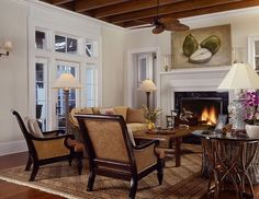 British Colonial Decorating Ideas Tropical Living Room By Cooper Smith Architects And Town Planners British Colonial Living Room Ideas Colonial Home Decor, British Colonial Decor, Colonial Furniture, Colonial Kitchen, Colonial Style Homes, Colonial Decorating, Decorating Ideas, Colonial Bedroom, Colonial Cottage