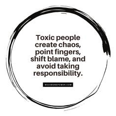 #Toxic people create #chaos, point fingers, shift blame, and avoid taking #responsibility. Toxic People, Blame, Relationship Quotes, Fingers, Truths, No Response, How To Plan, Create, Relationship Effort Quotes