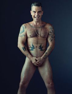 Exlusive: Robbie Williams On Sex Addiction, Drugs, And Fame Robbie Williams, Stoke On Trent, The Fashionisto, Inked Men, Inked Guys, Most Handsome Men, Hairy Men, Gorgeous Men, Moda Masculina