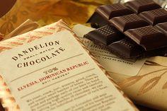 Dandelion chocolate representing my country! #dominicanrepublic