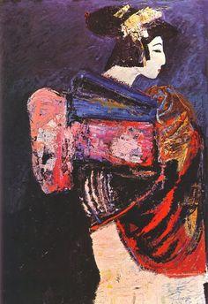 Catherine La Rose: ✿ Salvatore FIUME (1915-1997) ✿