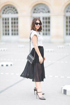 Reem Kanj How To Style Midi Skirts Paris 09