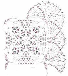table runner,set of doilies,table cover Crochet Tablecloth Pattern, Crochet Motif Patterns, Granny Square Crochet Pattern, Crochet Squares, Crochet Stitches, Crochet Art, Crochet Home, Filet Crochet, Vintage Crochet