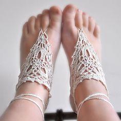 sandalias para pies descalzos