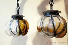 lamparas de vidrio soplado en tlaquepaque - Buscar con Google