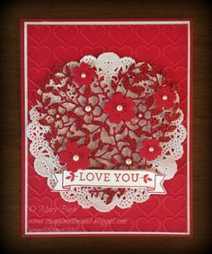 Stampin' in the Sand: Stamp It Valentine's Blog Hop!