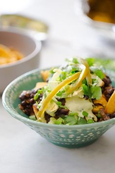 This hearty crowd-pleaser uses only plant-based ingredients for maximum flavor, like black beans, pickled jalapeños, avocado and poblano peppers. Photo credit: BrownSugar&Vanilla Womens Health Magazine WOMENS HEALTH MAGAZINE | IN.PINTEREST.COM HEALTH EDUCRATSWEB
