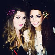 Zoella and SprinkleofGlitter - My two favourite girl YouTubers!