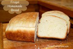Homemade Bread Recipe: water yeast sugar oil salt flour....mspi
