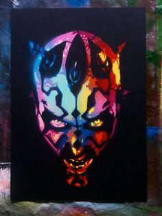 See Sith Lords in Prismatic Color in this Star Wars Artwork