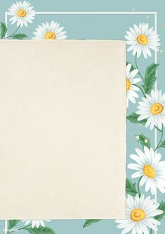 Flower Background Wallpaper, Flower Backgrounds, Background Patterns, Wallpaper Backgrounds, Frame Background, Doodle Frames, Instagram Frame Template, Powerpoint Background Design, Photo Collage Template