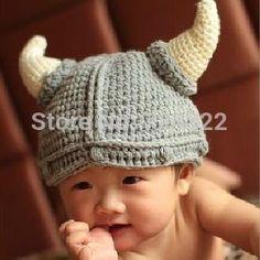 2014-neue-Neugeborene-häkeln-Wikinger-Kind-Winter-weihnachten-hüte-warm-baby-fotografie-requisiten-tier-kostüm-kappen.jpg_350x350.jpg (330×330)