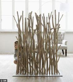 Bois : Le Design à Lu0027état Brut. Paravent Bois Flotté