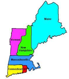 Map of New England - http://travelquaz.com/map-new-england-2.html