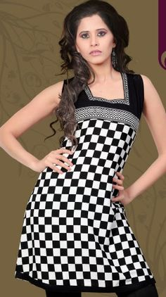 Indian Tunic Top Womens / Kurti Printed Blouse « Clothing Impulse