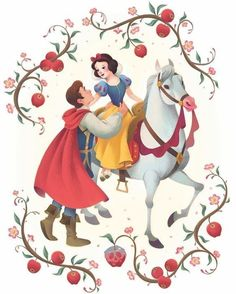 """My contribution to """"The Art of Snow White"""" a program developed by the for the ?Snow and Her Prince My contribution to The Art of Snow White a program developed by the for the ?Snow and Her Prince Walt Disney, Downtown Disney, Disney Couples, Disney Girls, Disney Magic, Deviantart Disney, Snow White Art, Snow White Disney, Snow White Cartoon"""