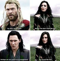 ➲❂ Thor: Ragnarok (2017), dir. Taika Waititi
