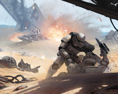 ArtStation - Star Wars: On the Front lines, Thomas Wievegg