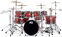 Collector's Series Lacquer Specialty - Tequila Sunrise over Maple with Chrome Hardware