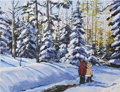 medium Acrylique - Peinture - Guylaine Joly