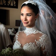 """""""What a stunning bride ❤️❤️❤️ @iamhearte #chizheart21515"""""""