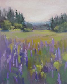 Painting my World: Tips for Avoiding Spotty Paintings