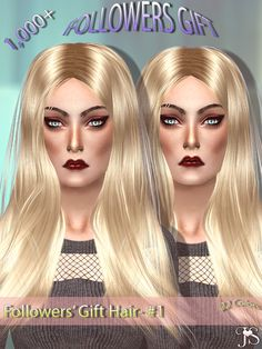 Sims 4 CC's - The Best: Hair by JavaSims