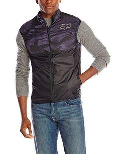 Fox Head Men's Dawn Patrol Vest, Black Camo, Medium - http://ridingjerseys.com/fox-head-mens-dawn-patrol-vest-black-camo-medium/