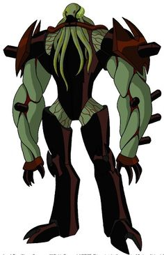 From the TV Show Series Ben 10 comes Vilgax and I only watched the original series so I was disappointed when they changed him some. Anyways he's awesome and one of my Favorite Villains and Steve Blum did a great job on him! ;D
