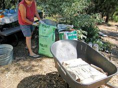 Make your own concrete planters | Flea Market Gardening