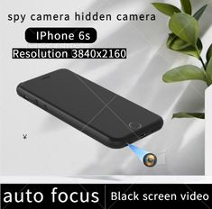 This is a portable mobile phone spy camera that can make phone calls. We modified the rear camera of the iPhone 6s to the earphone hole at the bottom of the phone, which will not affect the normal use of the phone. With the help of dedicated APP software, black screen recording can be achieved. All parameters of the mobile phone are subject to the parameters of the official website. Hidden Spy Camera, Black Screen, 4k Hd, Used Iphone, New Phones, Security Camera, Easy To Use, Videos, The Help