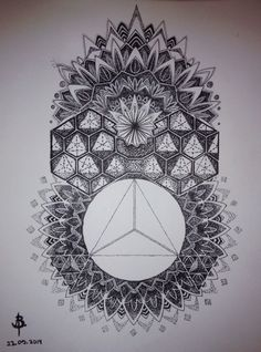 Mandalas Triangular Chakra on Behance