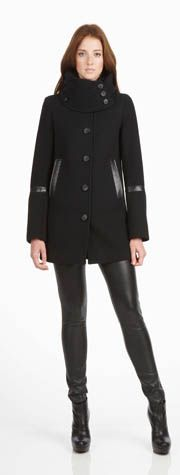 mackage winter jacket - the leather tights should be left behind though..lol