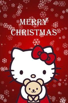 Plushie stuffed toy huggable merry Christmas hello kitty