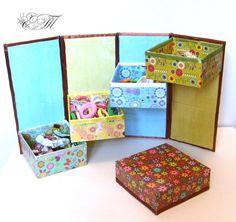 Остальное: шкатулка для украшения детская (шкатулка, коробочки своими руками, украшения) ФОТО #8