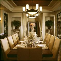 brown dining room ceiling   CHOCOLATE TRAY CEILING DINING ROOM.jpg provided by MOXY COLOUR THERAPY ...