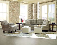 Alderman K40800 Sofa Group   Klaussner