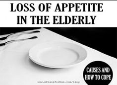 Loss of appetite and changes in appetite are a natural part of aging, but it's still important to make sure seniors get enough nutrients.