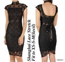 Dress Brokat - Black