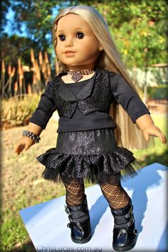 Rock Chick Outfit by ChrisLucasDesigns on Etsy  $56.36