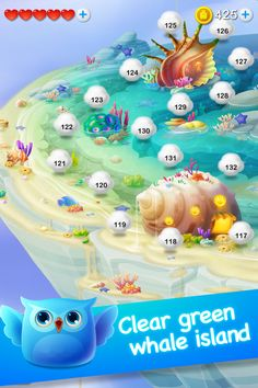 cute pop (iphone game) by feng coco, via Behance World Map Game, Ocean Games, Level Design, Map Games, Match 3 Games, Game Gui, Game Ui Design, Game Environment, Game Background