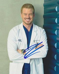 Eric Dane Autographed Signed 8X10 Photo COA