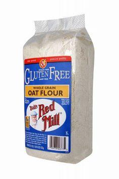 http://cheune.com/yummy Bob's Red Mill Gluten Free Oat Flour, 22-Ounce Bags (Pack of 4)
