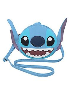 Always keep him by your side // Loungefly Disney Lilo Stitch Big Face Crossbody Bag
